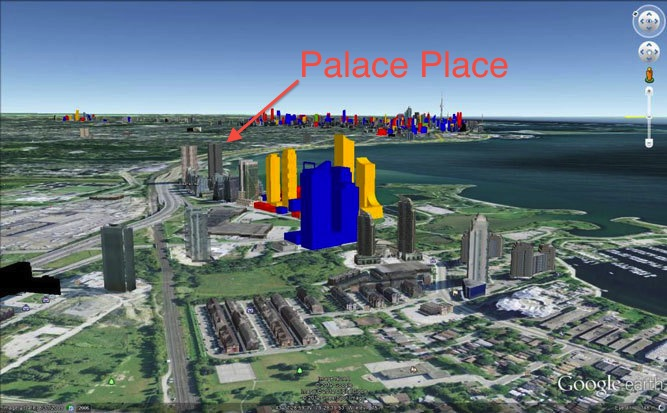 Toronto S Skyline In 2020 Palace Place 1 Palace Pier Court