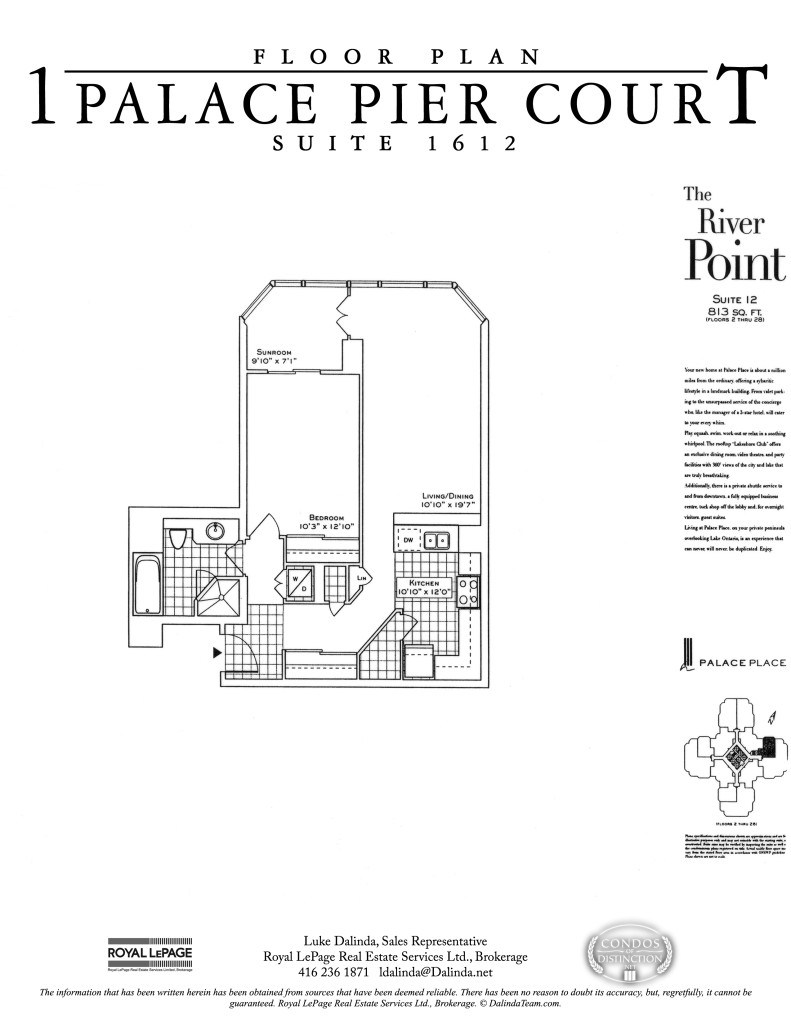 palace place suite 1612 floor plan