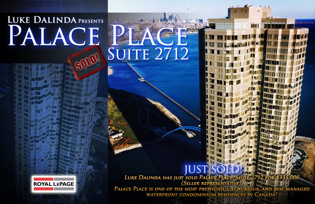 palace place Sold Card - PP 2712